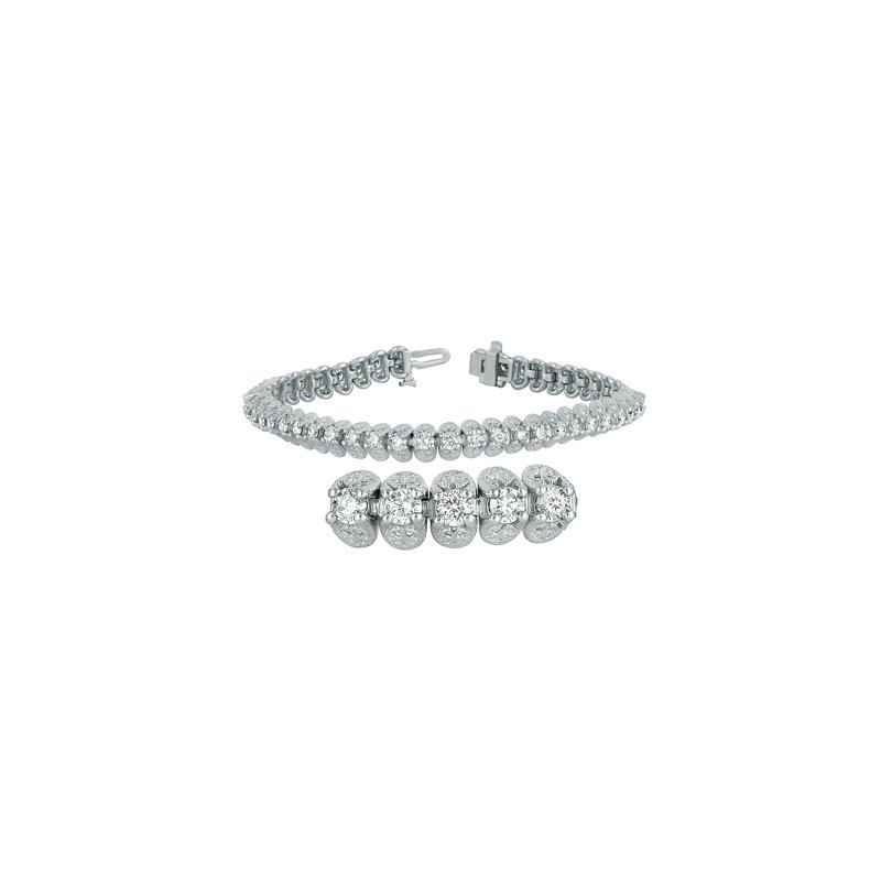 S. Kashi  & Sons Diamond Tennis Bracelet