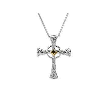 Celtic Cross Pendant Large