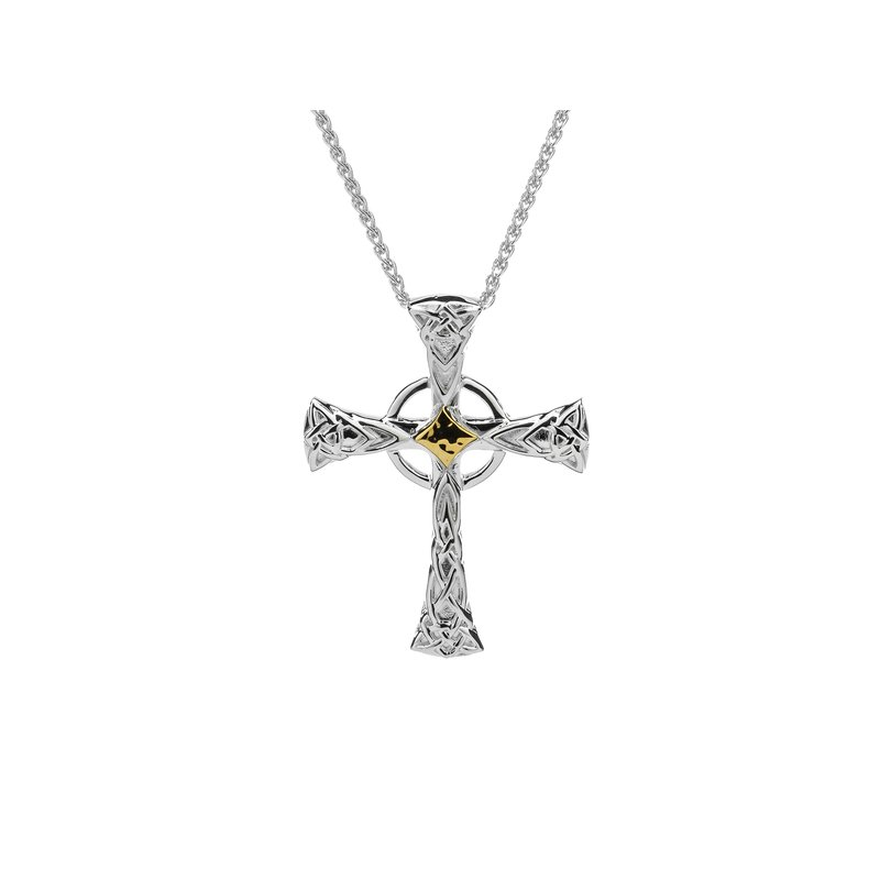 Keith Jack Celtic Cross Pendant Large