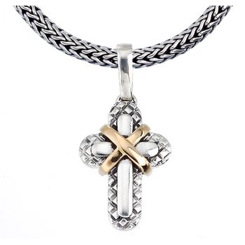 X Traversa Cross Pendant