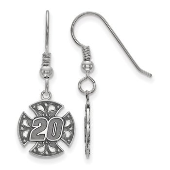 Sterling Silver 20 Matt Kenseth NASCAR Earrings