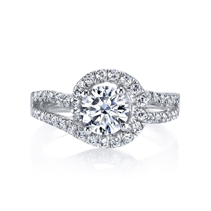 MARS Jewelry MARS 25595 Diamond Engagament Ring 0.73 Ctw.
