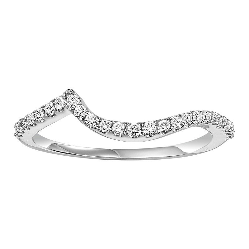 Bridal Bells 14K Diamond Band 1/5 ctw