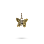 Waxing Poetic Ascension Butterfly Pyrite Charm