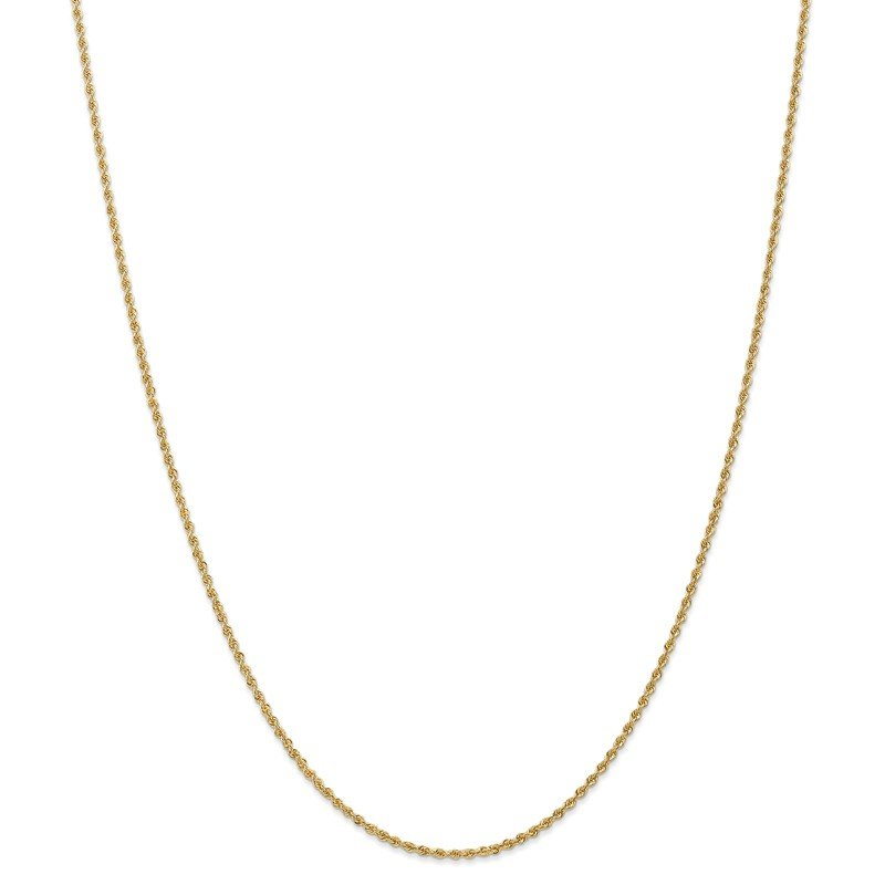 Leslie's Leslie's 14K 1.8mm Solid Regular Rope Chain Anklet