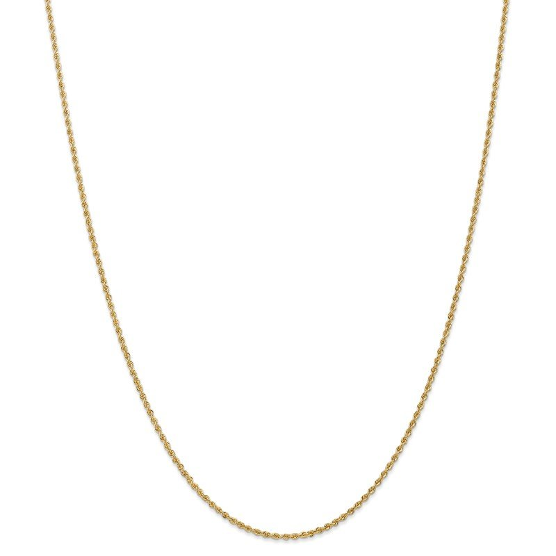 Leslie's Leslie's 14K 1.8mm Solid Rope Chain