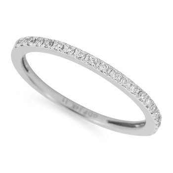 14K WG Diamond Wedding or Anniversary Band