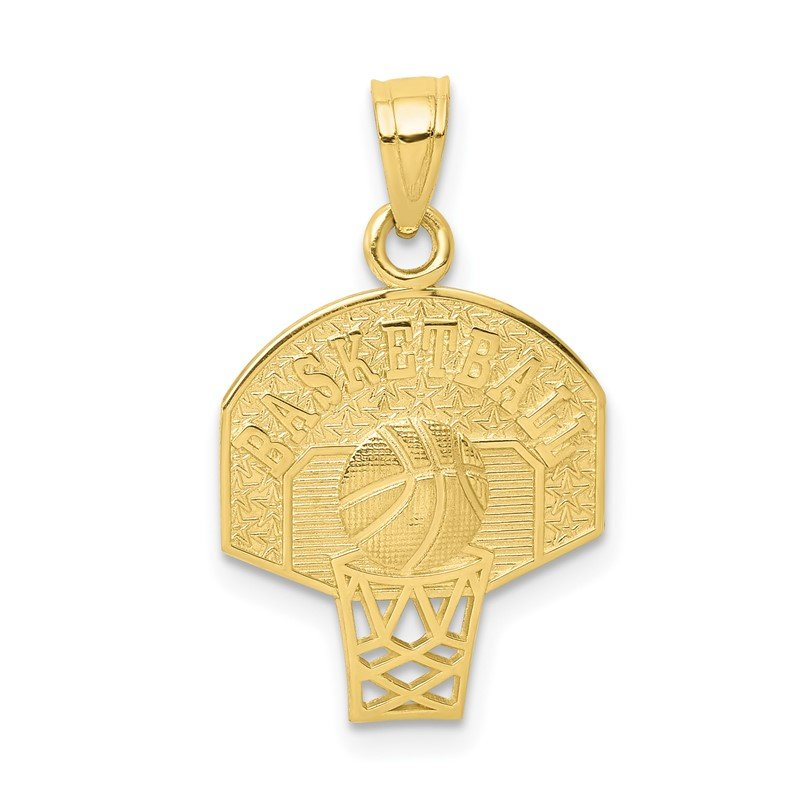 Quality Gold 10k Basketball Charm