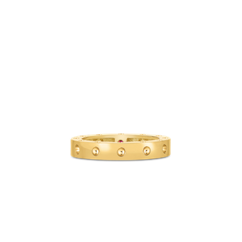 Round Ring &Ndash; 18K Yellow Gold, 7.5