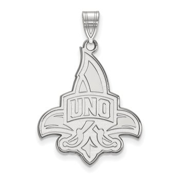 Gold University of New Orleans NCAA Pendant