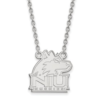 Sterling Silver Northern Illinois University NCAA Necklace