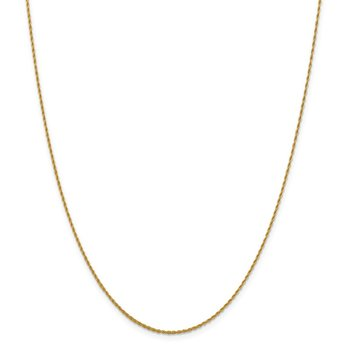 Leslie's 14K 1.3 mm Pendant Rope Chain