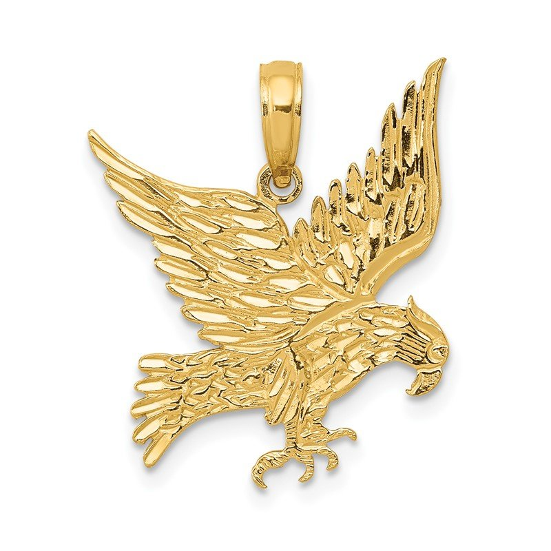 Quality Gold 14k Eagle Pendant