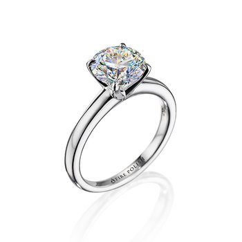 Solitaire Ring 1 1/2 CT