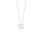 Roberto Coin 18Kt Gold Puzzle Pendant With Diamonds