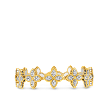 18KT GOLD DIAMOND LINK COLLAR