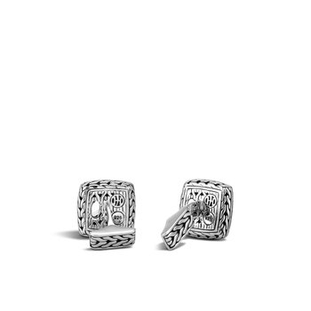 Classic Chain Cufflinks in Silver