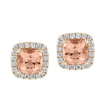 Champagne Sapphire Earrings-CE4298RCS