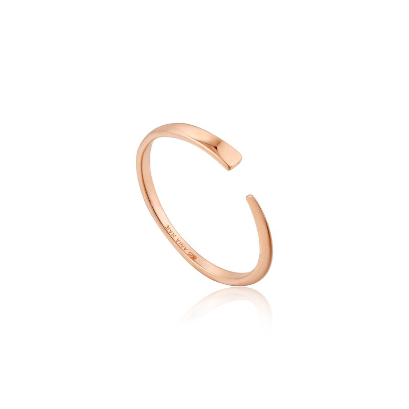 Ania Haie Geometry Flat Adjustable Ring