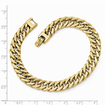 Leslie's 14K Polished Men's Bracelet