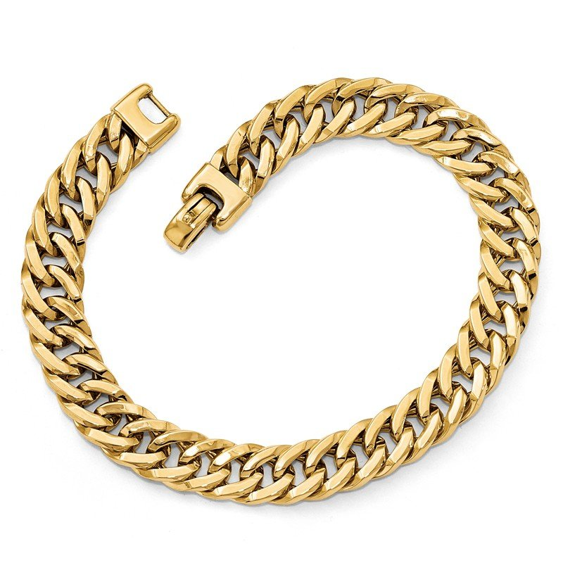 Leslie's Leslie's 14K Polished Men's Bracelet