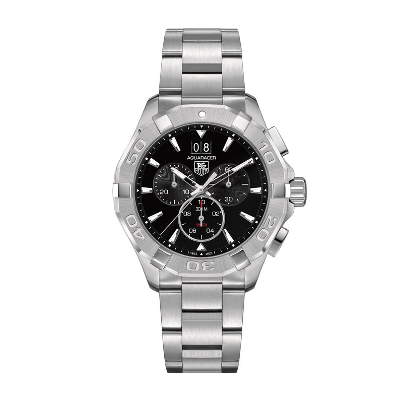 Tag Heuer - USD Aquaracer 300M Steel Bezel Quartz Chronograph