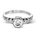 Zeghani ZR1422 ENGAGEMENT RING