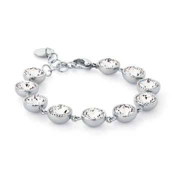 316L stainless steel and Swarovski® Elements crystals.