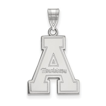 Gold Appalachian State University NCAA Pendant