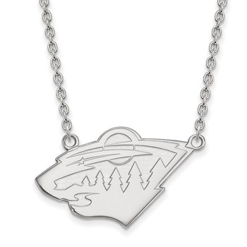 Gold Minnesota Wild NHL Necklace