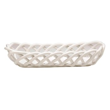 Baguette Basket, White