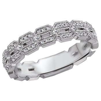 Ladies Infinity Diamond Ring