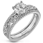 Simon G MR3058 WEDDING SET