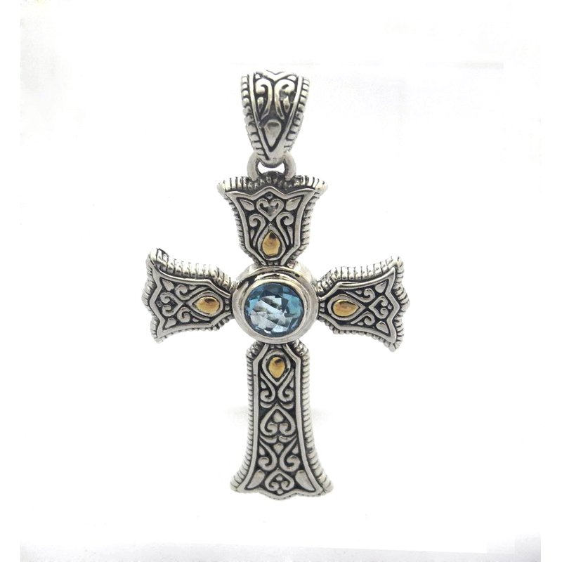 Samuel B Ireland Cross Pendant
