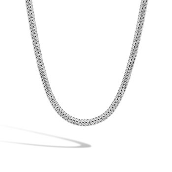 Classic Chain 6.5MM Necklace in Silver