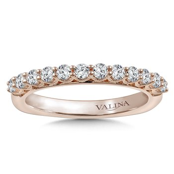 Stackable Wedding Band in 14K Rose Gold (.47 ct. tw.)