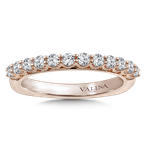 Valina Stackable Wedding Band in 14K Rose Gold (.47 ct. tw.)