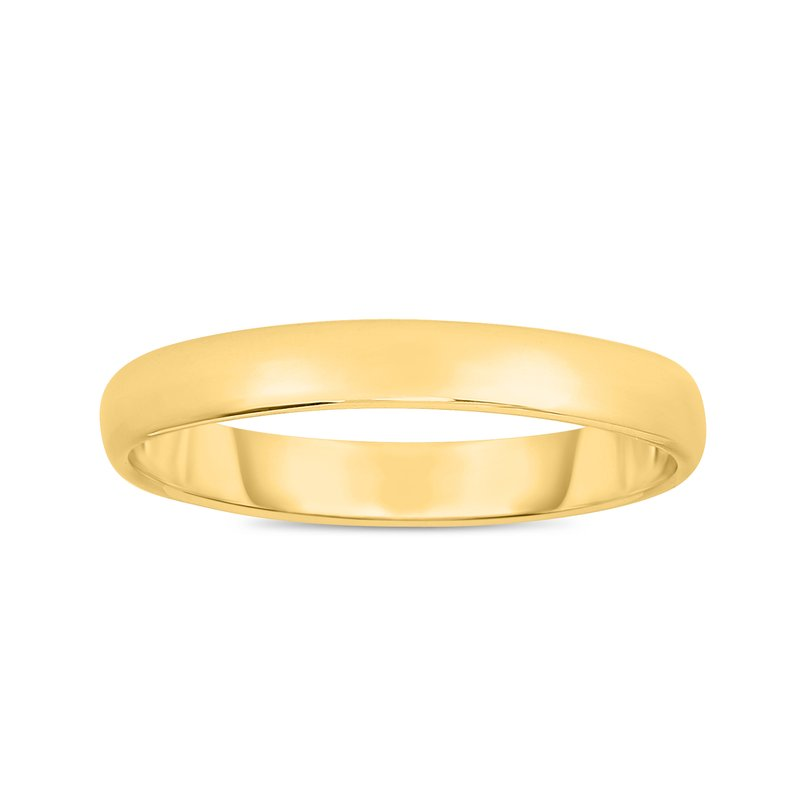 Royal Chain 14K Gold 3mm Wedding Band