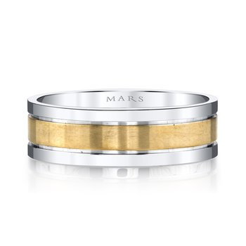 MARS G103 Men's Wedding Band