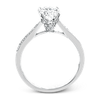 Simon G TR701-OV ENGAGEMENT RING