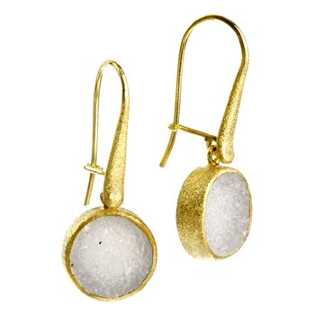 Petal Gold Earrings