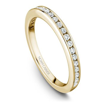 Noam Carver Wedding Band B006-01YB