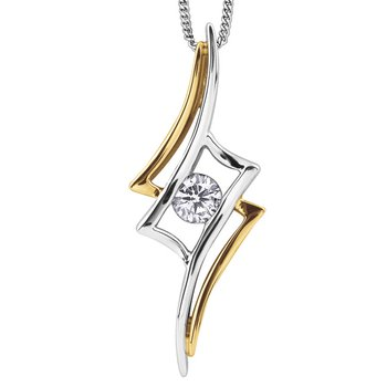 I am Canadian™Diamond Solitaire Pendant