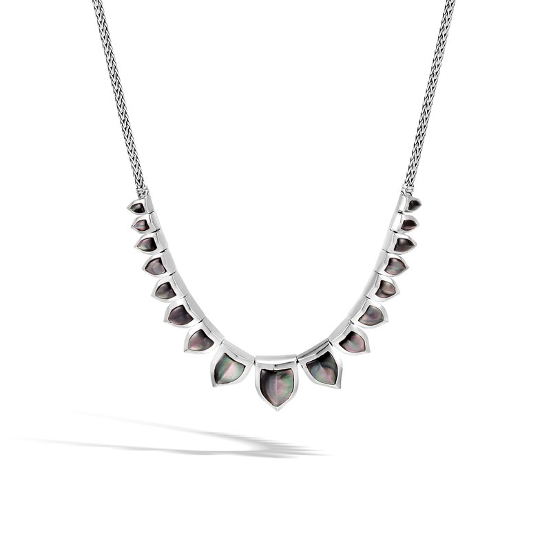 JOHN HARDY Legends Naga Necklace in Silver with Gemstone
