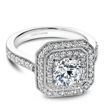 Noam Carver Vintage Engagement Ring B181-01A