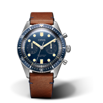 Divers Sixty-Five Chronograph Bucherer Blue Editions