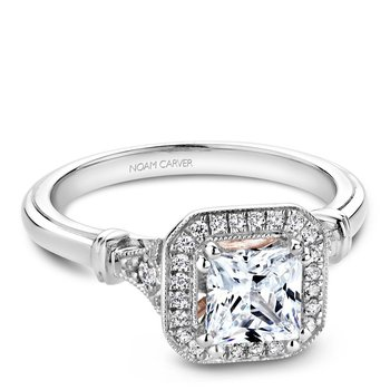 Noam Carver Regal Engagement Ring B070-01A