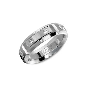 Carlex Generation 2 Mens Ring WB-9588WW-S