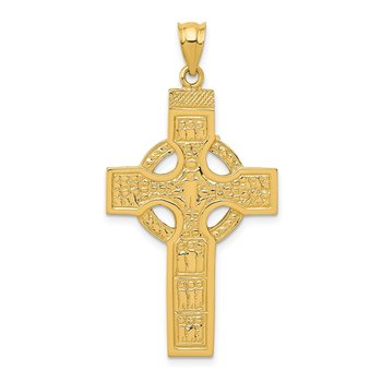 14k Celtic Cross Pendant