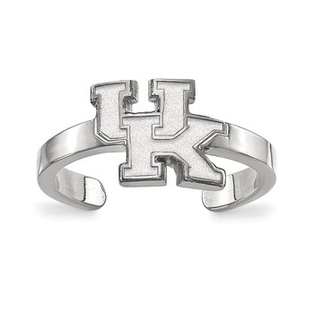 Sterling Silver University of Kentucky NCAA Ring